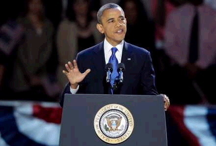 President Barack Obama Victory Speech 2012 ⑤.JPG
